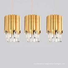 Wholesale Modern Luxury Home Living Room Chandelier Hanging Fixture Gold Crystal Chandeliers Ceiling Lighting Pendant Lamp