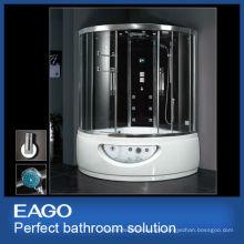 Ducha de vapor EAGO con bañera de masaje DA333F8 soluciones de baño de lujo
