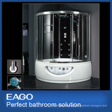 EAGO steam shower room with massage bathtub DA333F8 luxury bathroom solutions