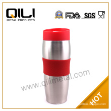 Double wall stainless steel travel mug|insulated travel mugs with handle