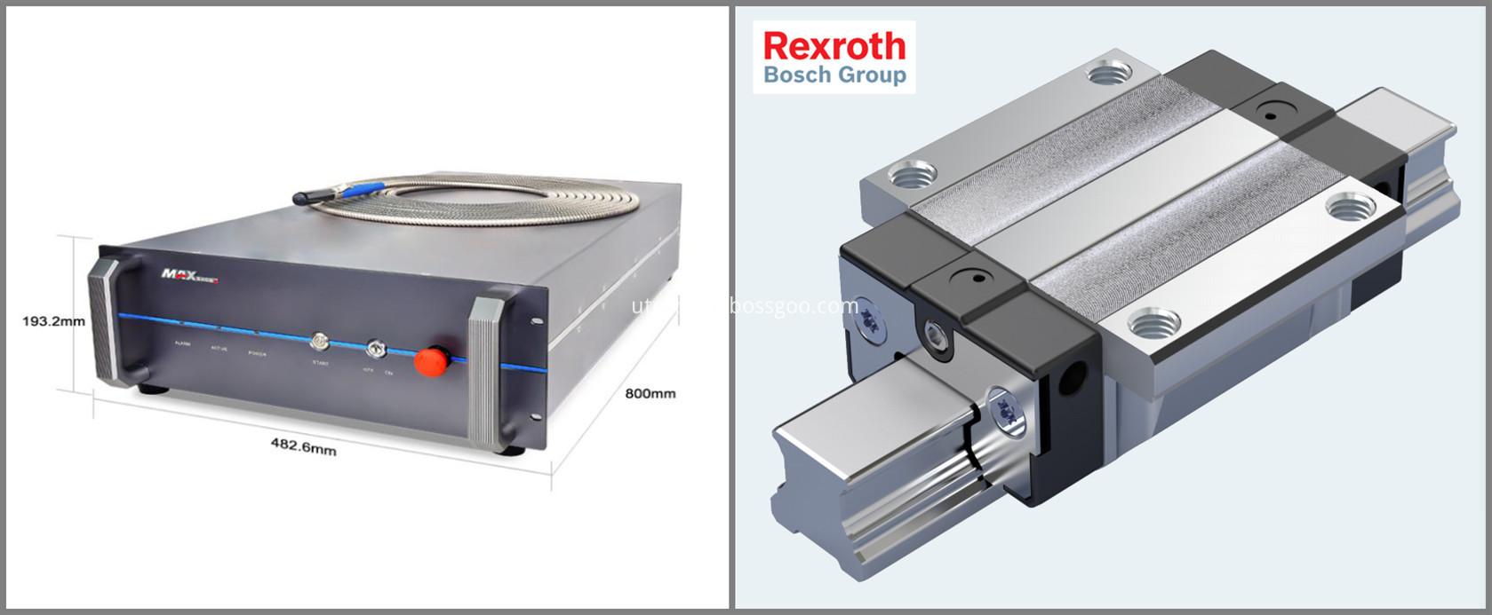 CNC laser fiber cutter machines
