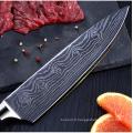 Yangjiang best seller couteau de cuisine en acier damas