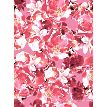 Tela de nylon color rosa utilizada para traje de baño y ropa deportiva (ASQ071)