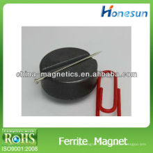rotor d'aimants ferrite solides isotropes