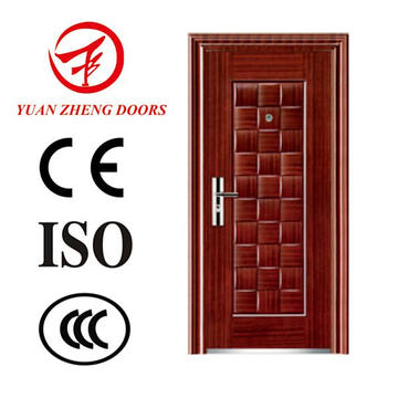 Cheap China Supplier Economic Steel Front Door