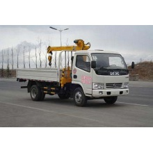 Dongfeng 4x2 used service truck cranes for sale