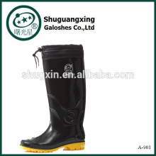 Botas de lluvia de goma Tropical vaquero réplica para hombres A-901