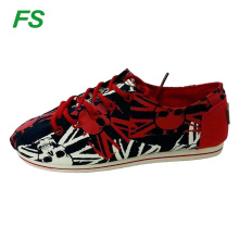 2015 new fashion flat canvas shoes