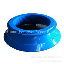 Mn18cr2 Cone Crusher Spare Parts Mantle and Concave