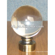 high-quality crystal ball curtain finial for crystal rod,window curtain design for home Christmas decoration