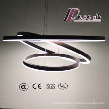 Три Круглые Декоративные Алюминиевый Акриловый Шар Подвесной Светильник Трек