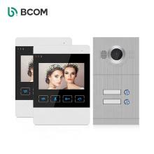 Bcom door access control system deurbel 2 way intercom system security wired door bell video