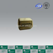 LUXES laiton urnes métalliques avec Cène sculpté urnes