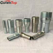 GutenTop King Combination Hose Coupling Cheap Price Carbon Steel KC Nipple Fitting