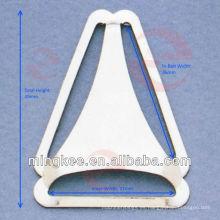 Hebilla de cinturón de triángulo para overoles babero (P4-76S)