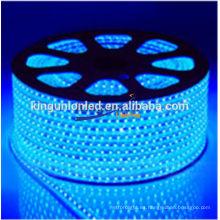 Diferentes tipos de modelo de diseño impermeable flexible llevó tira de luz