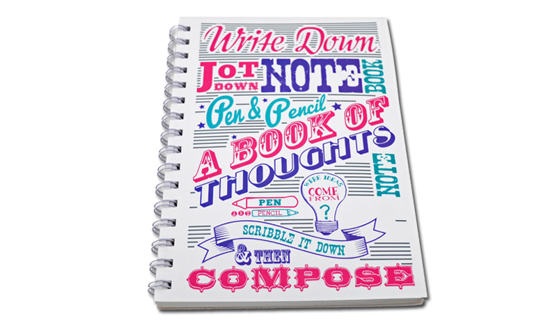 Cheap Creative Exercise Book Writing Notebook