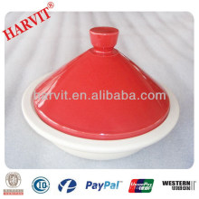 Pizza Baking Stone / Italian Cookware Set / Chine Fabricant Vaisselle Red Color Microwave Tagines