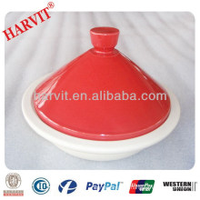 Pizza Baking Stone / Italy Cookware Set / China Manufacturer Crockery Red Color Microwave Tagines