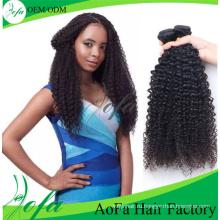 100% девственница монгольский человеческие волосы Remy weave для kinky Курчавое