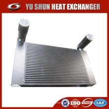 Alto rendimiento de la placa de aluminio y el intercooler del carro de la barra