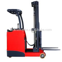 Gabelhubwagen-Reichweite-LKW des Sitzbatterie-Gabelstaplerreichweite-elektrischen Reichweite-LKWs, Wechselstrom und ENV