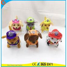 Горячий продавать новый дизайн мягкие плюшевые прогулки лай Электрический красочные щенки патруль плюшевые игрушки на день рождения Рождественский подарок