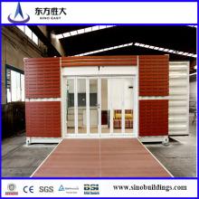 Контейнерный дом с сэндвич-панелями, контейнер с изоляцией, готовый контейнерный дом