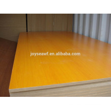1220 * 2440 * 18mm melamina contrachapado / melamina mdf / melamina blockboard / precio barato
