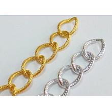 Высококачественная модная многоцветная алюминиевая металлическая цепочка ювелирных изделий