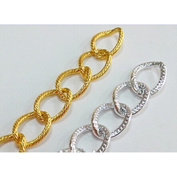 High Quality Fashion Multi-Colored Aluminum Jewelry Metal Chain