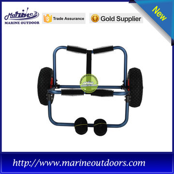 Aluminum anodized kayak trailer, kayak trolley wheels