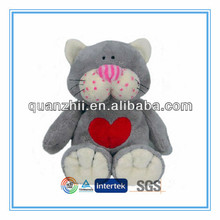 Cute soft cat toy for children