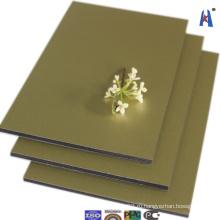 Интерьер с использованием 3 мм алюминиевых композитных панельных строительных материалов