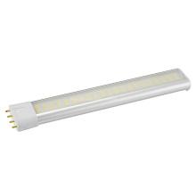 10W LED Pl tubo luz L217mm com driver externo