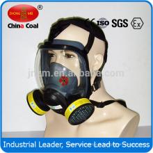 Máscara de gás química eficaz do respirador da máscara de gás da cara completa do carbono ativado