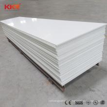 Feuilles de surface solides acryliques translucides de pierre artificielle