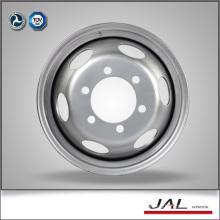 5.5x16 ET 102 PCD 170 CB 130 Silver Auto Rims Wheels with 6 Large Vent Holes