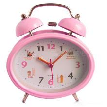 Logo al por mayor Logo Design OEM Clock Table Alarm Clock
