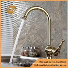 High Quality Classical Brass Kitchen Tap (ICD-7594)