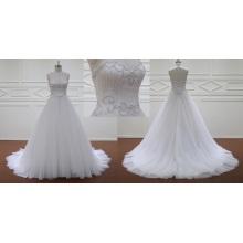 Vestido cremallera vestido de novia nuevo baja
