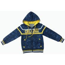 Abrigo al aire libre de la moda de la chaqueta de estilo casual con cremallera