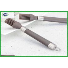 Масляная щетка с ручкой из нержавеющей стали
