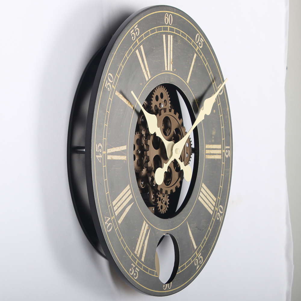 Decorative Wall Clocks With Gears