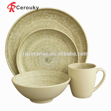 Kitchenware poland porcelain dinnerware set