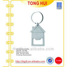 Porte-clés d'ouverture de bouteille en forme de maison fraîche pour tout besoin personnalisé