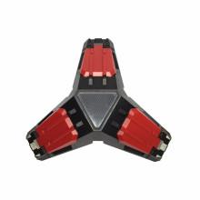 Eisen Dreieck LED Triple 3 USB Ports Dock Station Gamepads Lade Ständer für XBOX ONE Controller