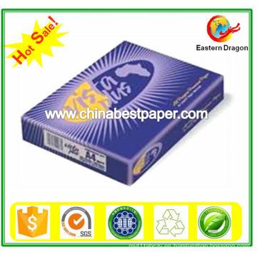 75g ISO 96% Papel de copia