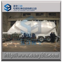 38000 L 3 Axle Coniod Shape Dry Bulk Tank Trailer