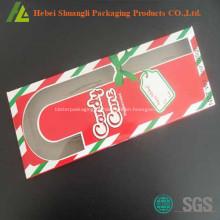 Doces de plástico descartáveis embalagens de cana